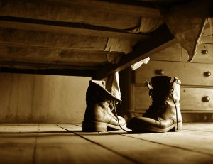 work.3186256.2.flat,550x550,075,f.who-owns-those-boots-beneath-the-bed-where-my-old-boots-should-be-v-2-close-up-detail
